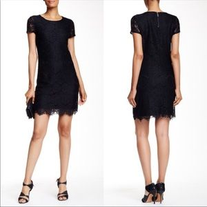Laundry by Shelli Segal Lace Shift Dress Size 0